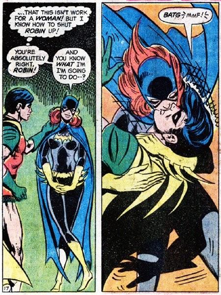 Batgirs секс комикс
